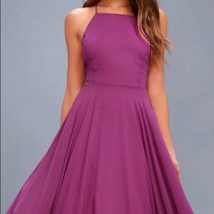 Dresses & Skirts - MYTHICAL KIND OF LOVE MAGENTA MAXI DRESS